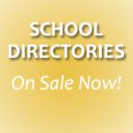 School Directories on sale now!