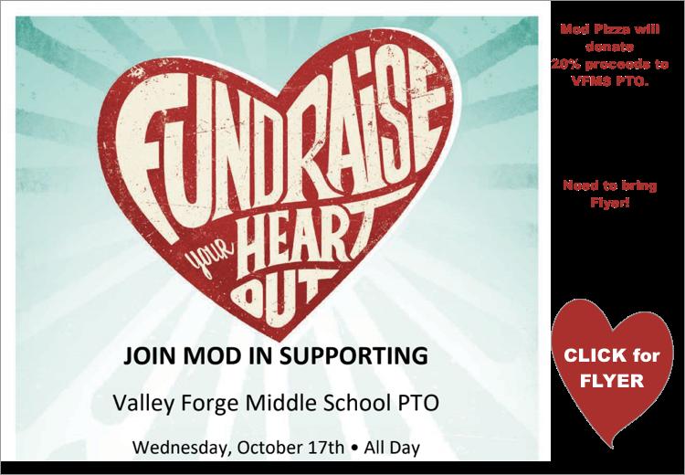 MOD Fundraiser Flyer