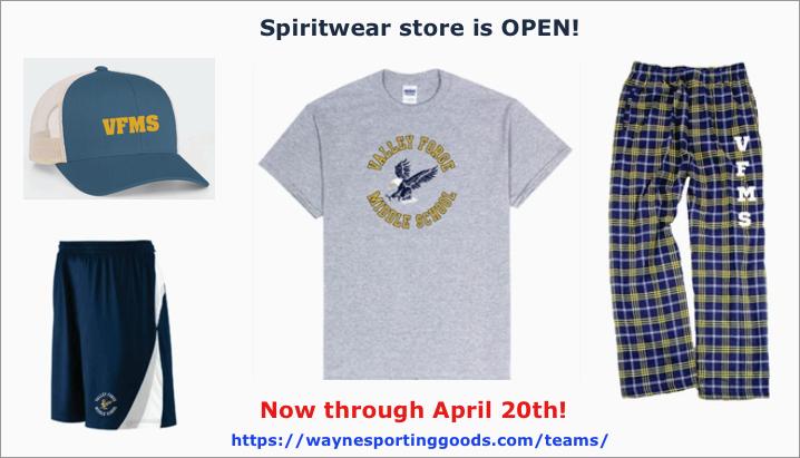 Spring Spirit wear store